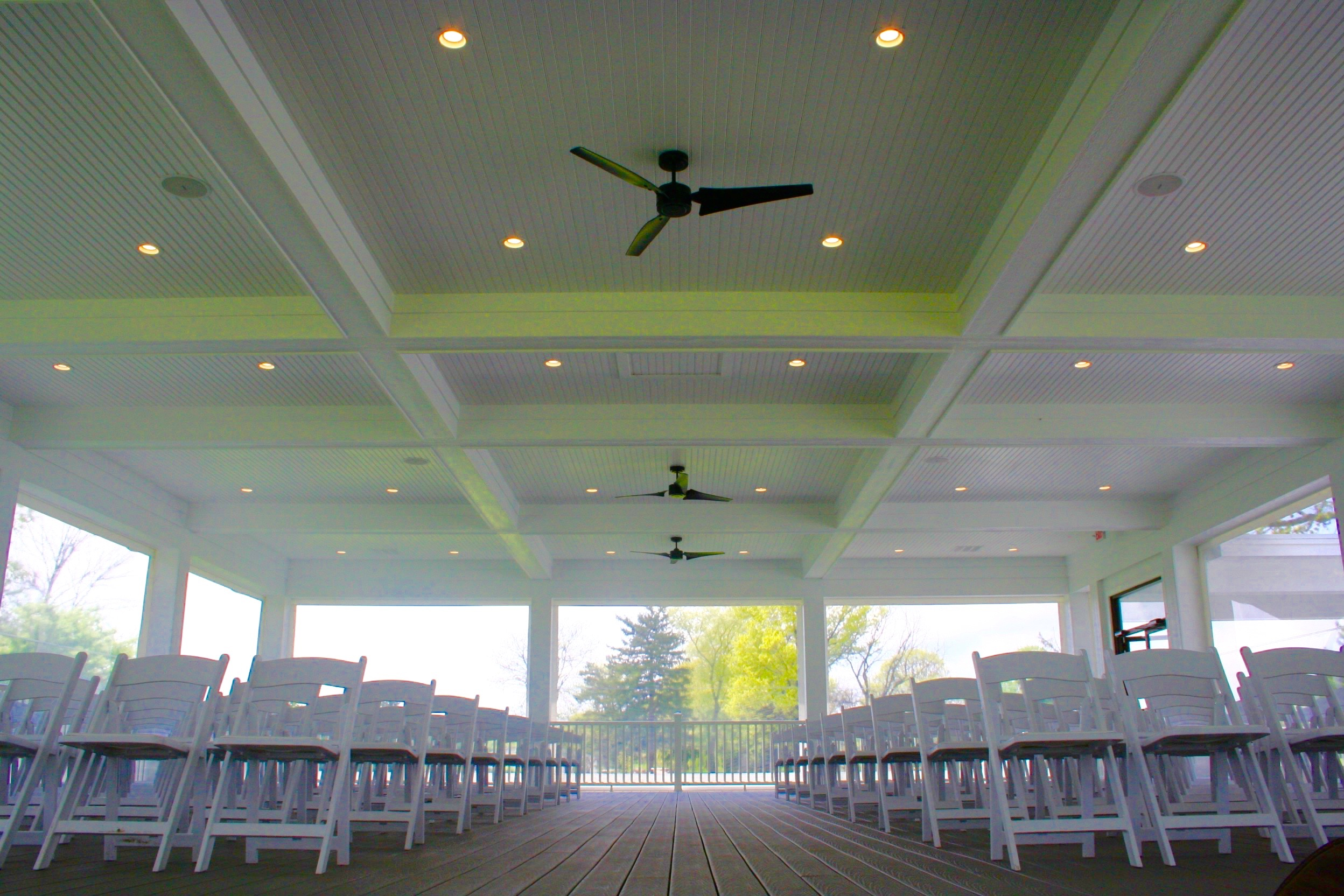 Covered Deck-Ceremony Chairs